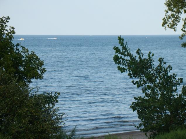 along Lake Ontario