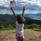 Saluting 'Merica On Buck Mountain